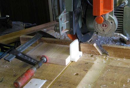 Cutting the shims